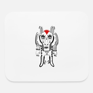 Wheel cute ornate doodle - Mouse Pad