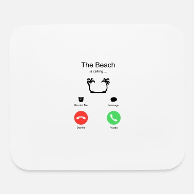 Urgent Beach Summer Vacation Holiday - Mouse Pad