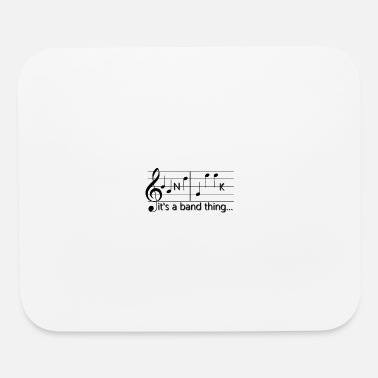 Band Supporter Band Geek T-shirts and Gifts - Mouse Pad