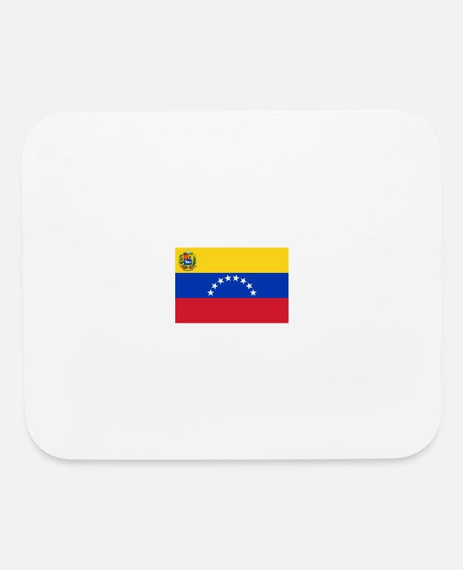 National Mouse Pads - National Flag Of Venezuela - Mouse Pad white