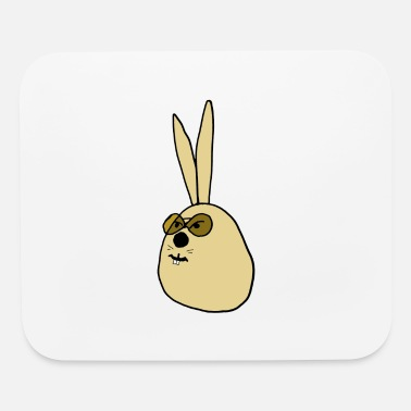 Old old Rabbit ,old Bunny - Mouse Pad