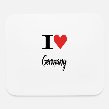 Germany I Love Germany - Mouse Pad