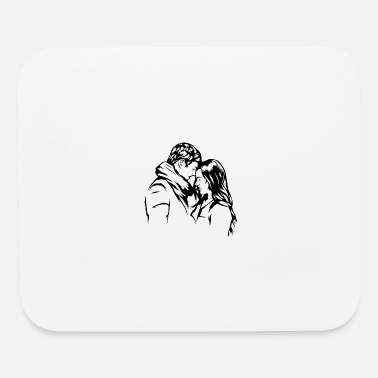 Sensual Couple Relationship Kissing Married Women Passion - Mouse Pad