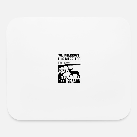 Marriage Equality Mouse Pads - We Interrupt This Marriage - Mouse Pad white