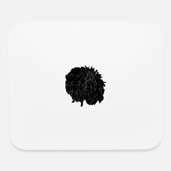 Midnight Mouse Pads - Midnight - Mouse Pad white