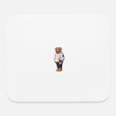 Solehouette Henny Bear Wht - Mouse Pad