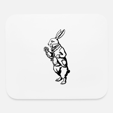 White Rabbit White rabbit - Mouse Pad