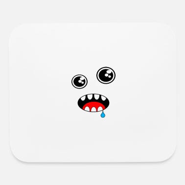 I Love Myself Love You Little Monster in Love Happ - Mouse Pad