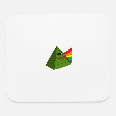 frog pyramid - Mouse Pad