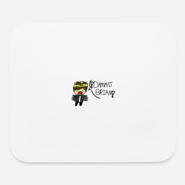 Collections The DAMMIT BRIAN Collection! (Collection 1) - Mouse pad Horizontal