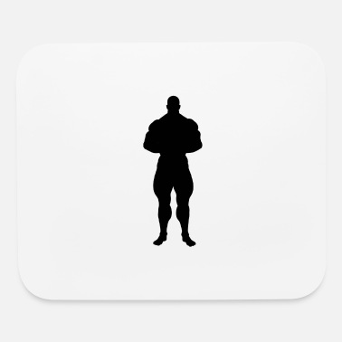 Silhouette silhouette - Mouse Pad