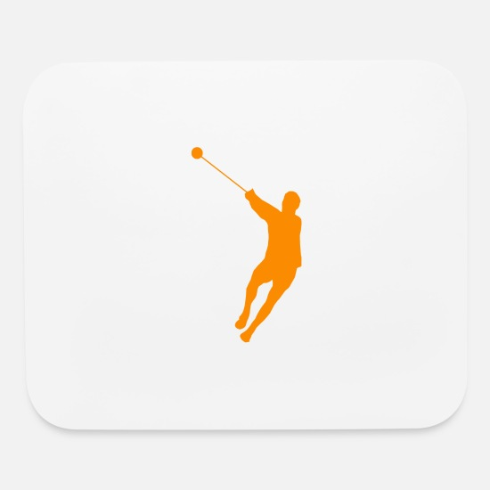 Hammer Mouse Pads - hammer throwing - Mouse Pad white
