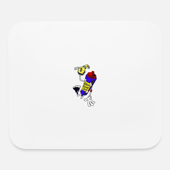 Stylish Mouse Pads - Solehouette Hustler's Secret Stuff - Mouse Pad white
