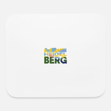 Idyll Heidelberg castle and landscape - Mouse Pad