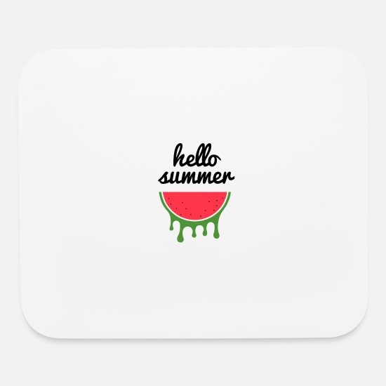 Gift Idea Mouse Pads - hello summer v3 - Mouse Pad white