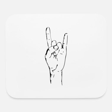 Rock On rock on - Mouse Pad