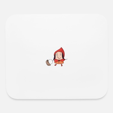 Fairy Tale Figure red fairy tale - Mouse Pad