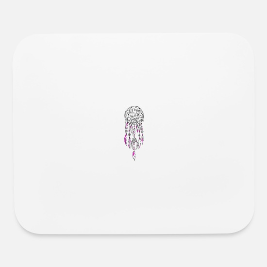 Love Mouse Pads - Let your dreams be bigger - Mouse Pad white