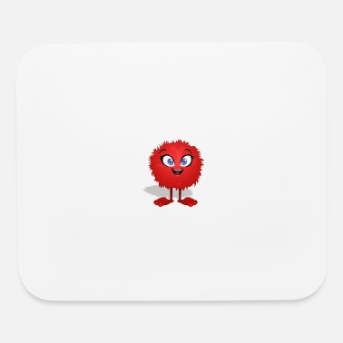 Hairy Hairy Monster - Mouse Pad