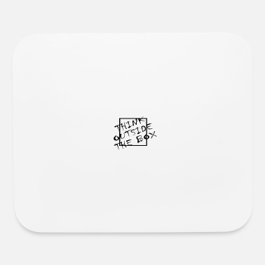 Lateral Thinker Think Outside The Box Querdenker Geek Geschenk - Mouse Pad