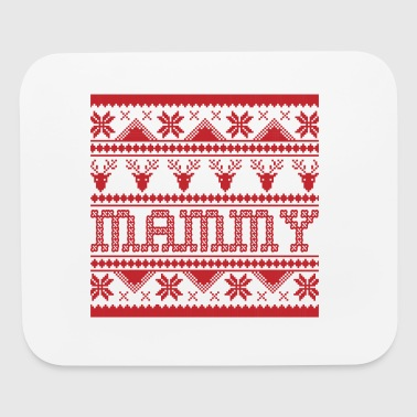 Christmas Ugly Xmas Sweater Mammy - Mouse pad Horizontal
