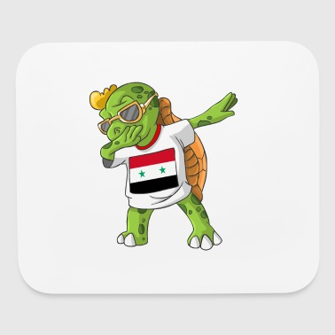 Syria Dabbing Turtle - Mouse pad Horizontal