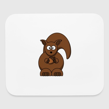 Squirrel Animal Nuts Eurasian Asian Croissant Gift - Mouse pad Horizontal