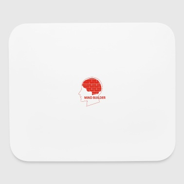 mind builder - Mouse pad Horizontal