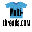 Multi-threads Graphic T-Shirts