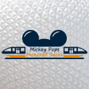 Mickey Pops Monorail Socks