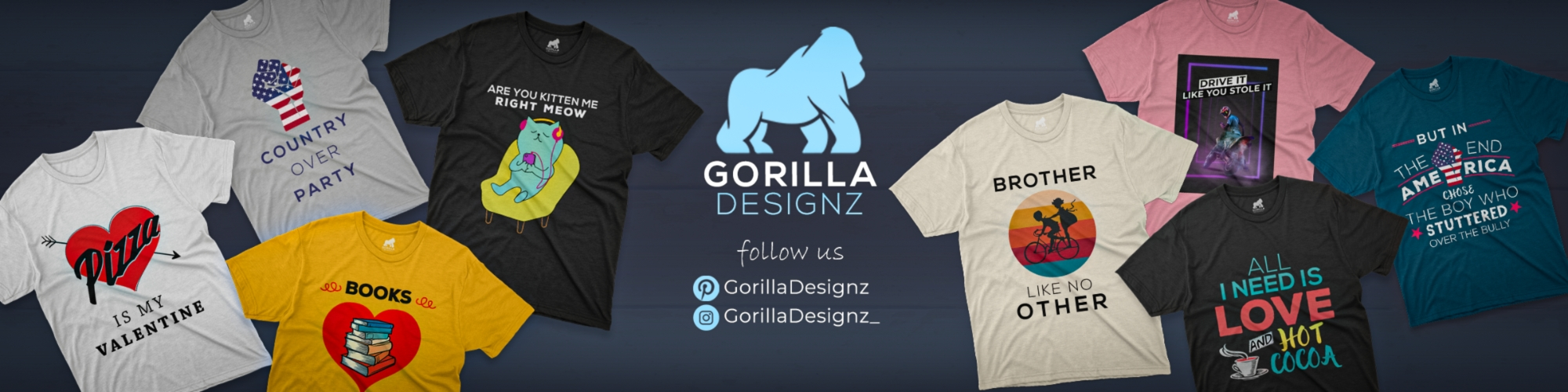 Showroom - GorillaDesignz