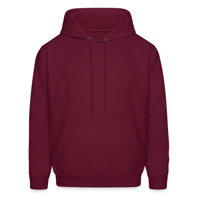 plain shirt - Men's Hoodie