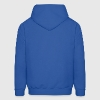 Royal blue Eagle,Rose,and Nautical Star Lightning Tattoo Hoodies - Men's Hoodie