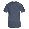 BERLIN block-font - Fitted Cotton/Poly T-Shirt by Next Level