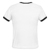 Podcast Logo4 White - Men's Ringer T-Shirt