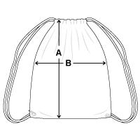 Cotton Drawstring Bag | Q-Tees Q4500