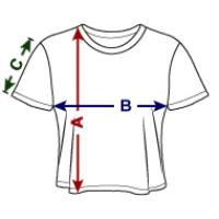 Women's Cropped T-Shirt | Bella+Canvas B8882
