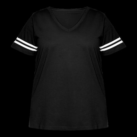 Women's Curvy Vintage Sport T-Shirt