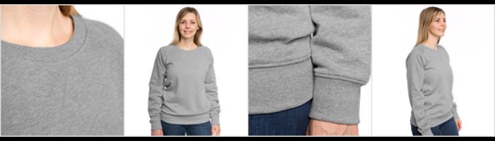 Women's Premium Slim Fit Sweatshirt