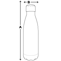 Insulated Stainless Steel Water Bottle | DyeTrans