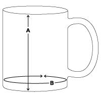 Panoramic Coffee/Tea Mug 15 oz