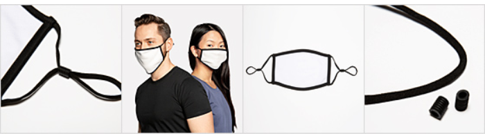 Adjustable Contrast Face Mask (Small)