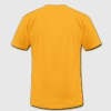 Gold The lion's head with crown T-Shirts - Men's T-Shirt by American Apparel