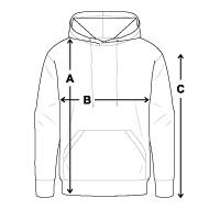 Size chart - Men's Premium Hoodie