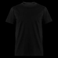 T-Shirts ~ Men's T-Shirt ~ Plain Black Tee