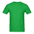 I DON't get DRUNK, I get Happy with a shamrock Men's T-Shirt
