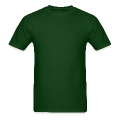 Irish man hold shamrock Men's T-Shirt