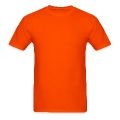Fake Deluxe Tuxedo Orange Men's T-Shirt