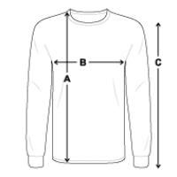 Men's Long Sleeve T-Shirt | Fruit of the Loom