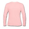 Chilly Penguin Woman's Long Sleeve Tee (CC) - Women's Long Sleeve Jersey T-Shirt